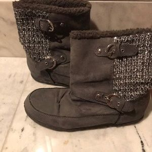 Guess slip on booties
